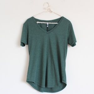 NWT Z Supply The V Neck Tee Pine Green